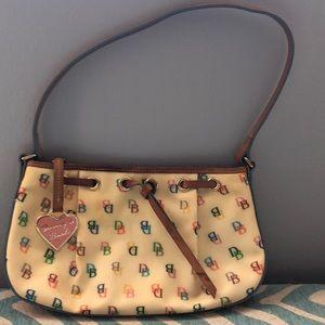 Dooney and Bourke vintage rainbow logo purse